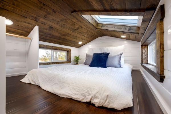 26ft Dark Wood Tiny House
