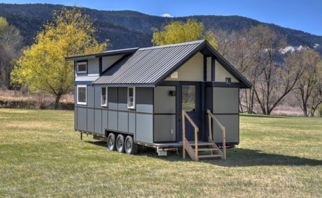 381 Sq Ft Solaire Tiny House For Rent Annual At