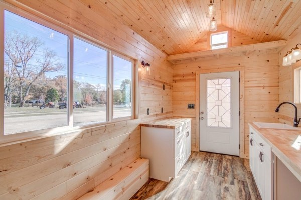 290sf Tiny House on Wheels with Downstairs Bedroom For Sale in Durham, NC 003