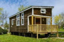 300 Sq FT Tiny House On Wheels Plans
