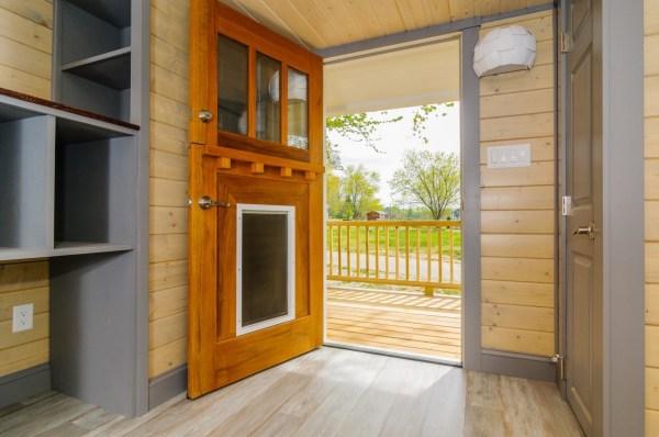 300 Sq Ft Custom Tiny Home on Wheels by Wishbone Tiny Homes 002