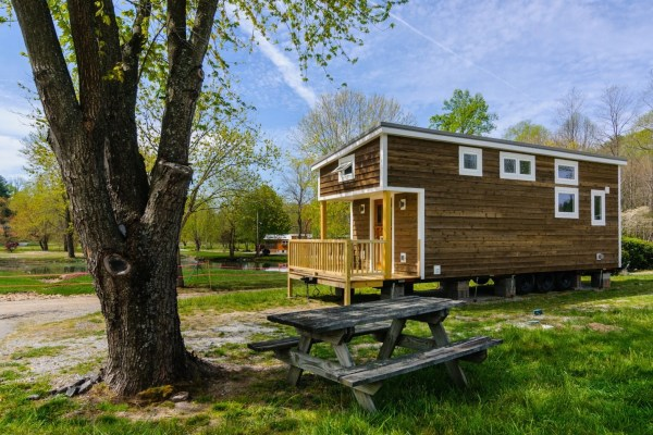 300 Sq Ft Custom Tiny Home on Wheels by Wishbone Tiny Homes 0024