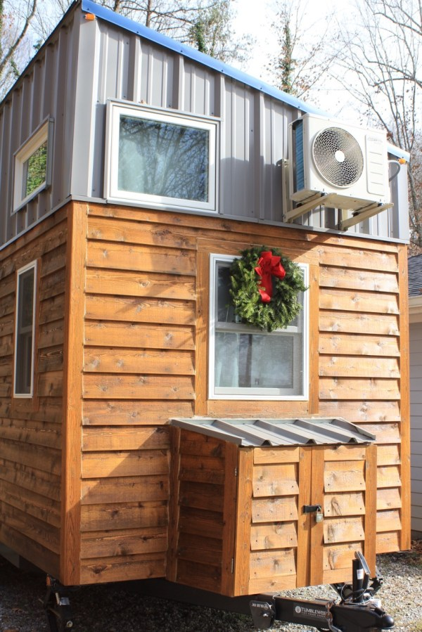 300 sq ft modern tiny house on wheels in knoxville for 300 square foot house