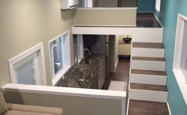 32 Gooseneck Westbury Tiny House With Awesome Living Room