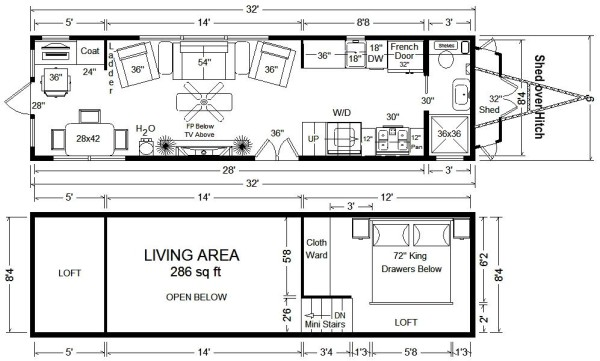 Tiny House Plans Home Architectural Plans 12 Modern Tiny House 2