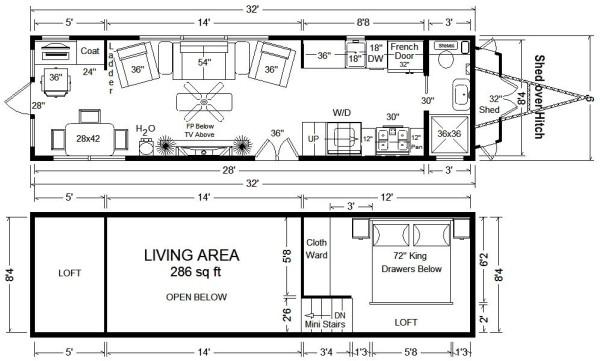 Tiny Home Plans Designs