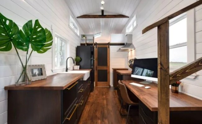 34 Ft Tiny House With Home Office