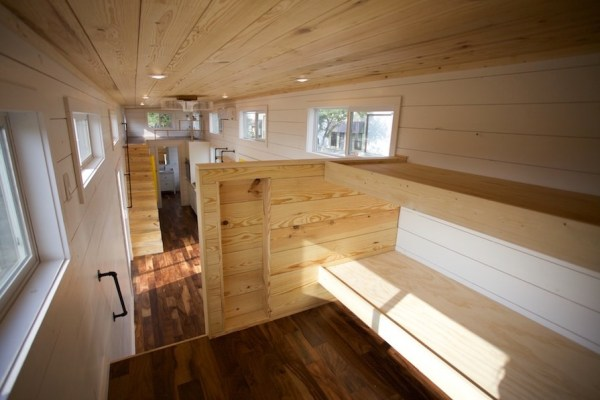 357 Sq Ft Tiny Home on Wheels for Family of 5 0015