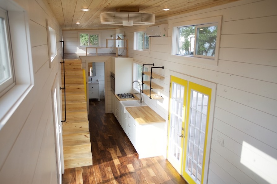 357 Sq Ft Tiny Home On Wheels For Family Of 5