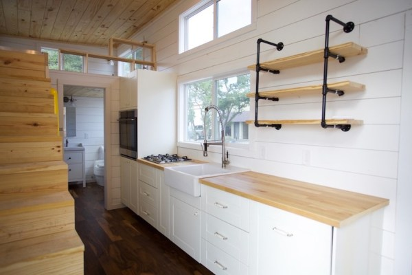 357 Sq Ft Tiny Home on Wheels for Family of 5 008