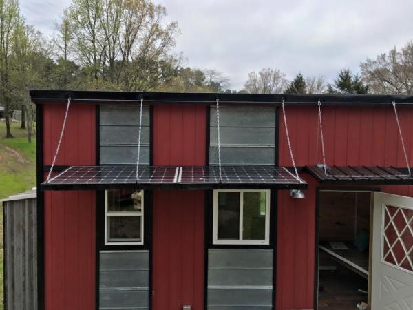 35k Solar Tiny House on Wheels For Sale 001