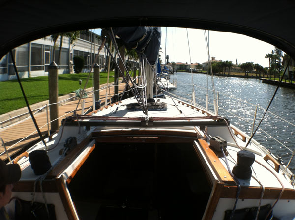 Living Aboard a 36' Catalina Sailboat - Small Spaces and Tiny Houses