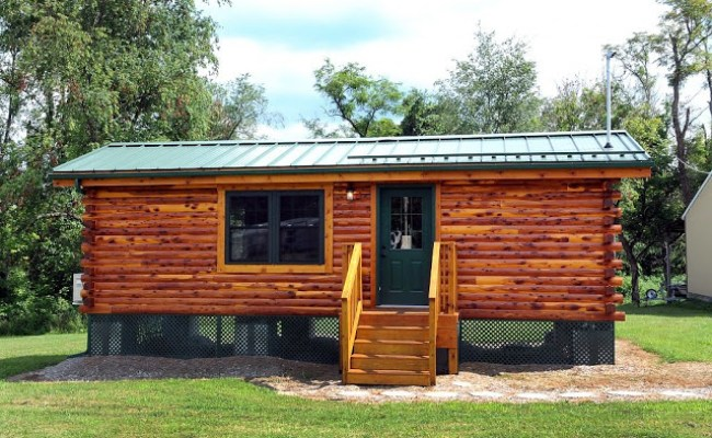 360 Sq Ft Cambridge Log Cabin