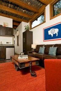 The Wedge 400 Sq. Ft. Cabin by Wheelhaus