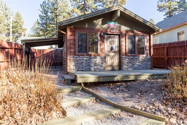 402 sq ft big bear cabin for Big bear 2 person cabin
