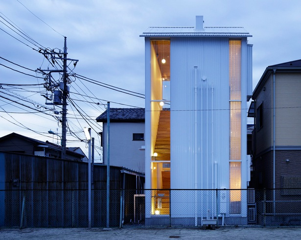 624 Sq Ft 3Story Small House in Japan