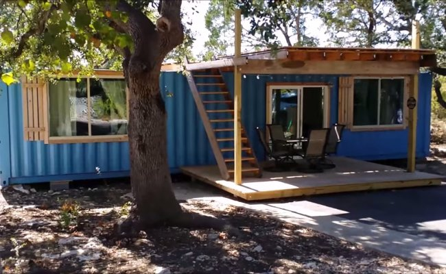 40ft Shipping Container Tiny House Built For Less Than 20k