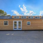 40ft Tiny House Built Using a Shipping Container 001