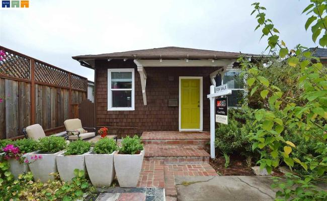 420 Sq Ft Tiny Cottage In Alameda California For Sale