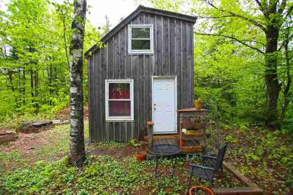 $45k Tiny Cabin on 2 Acres in Vermont