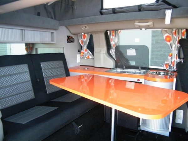 5 Mars RV Dodge Caravan Motorhome Conversion 0016