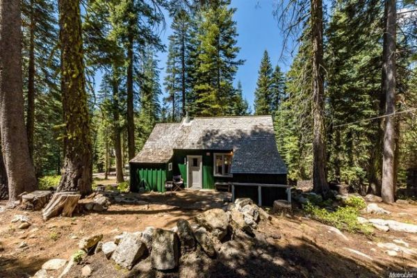 500 Sq. Ft. Forest Service Cabin For Sale 012