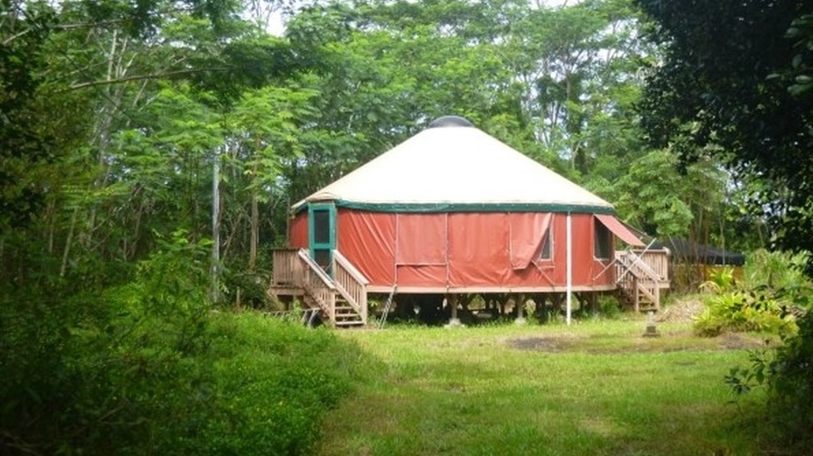 707 sq ft yurt on 1 acre lot in hawaii for sale for 2 houses on one lot for sale