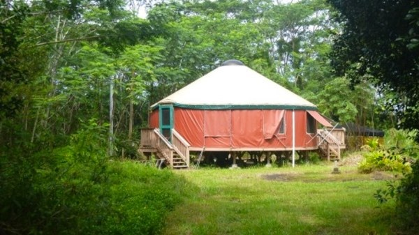 707SF Yurt For Sale in Hawaii on 1 Acre 001