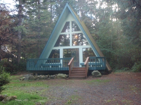 708 Sq. Ft. A-frame Cabin For Sale in Belfair, WA