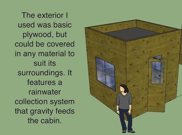 8x8 Tiny House Design Contest