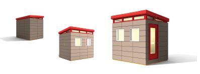 8 x 10 Small house kits