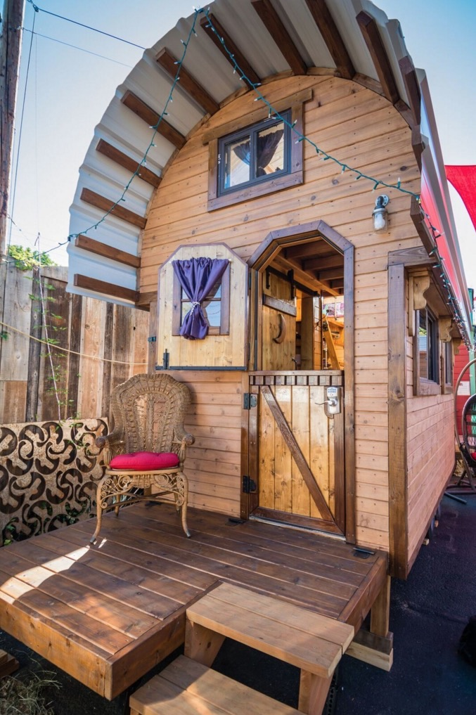 80 Sq Ft Roly Poly Tiny House For Sale