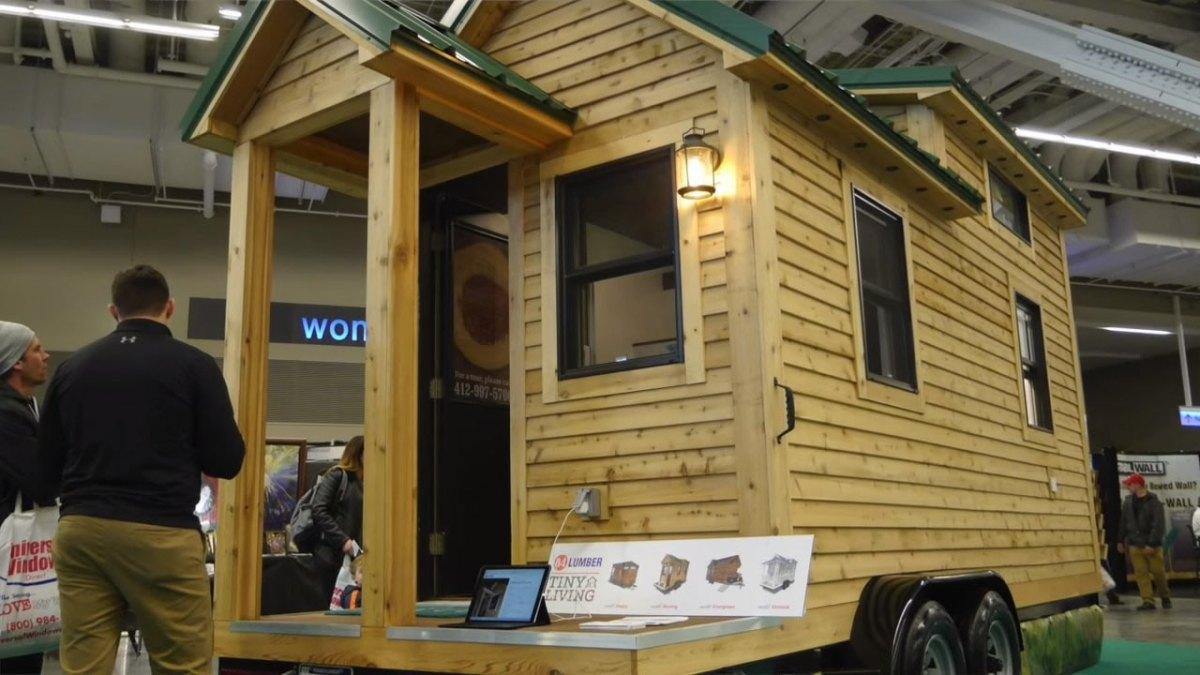 84 Lumber 39 S New Tiny House On Wheels