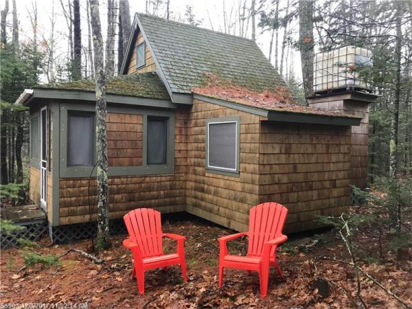 84k tiny cabin in maine for sale w land. Black Bedroom Furniture Sets. Home Design Ideas