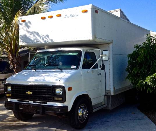95 Chevy G30 DIY Box Truck Motorhome RV For Sale 001