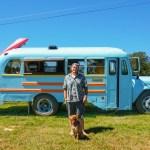 Aaron school bus tiny house conversion - Exploring Alternatives 1