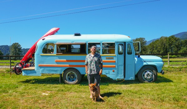 Aaron school bus tiny house conversion - Exploring Alternatives 1