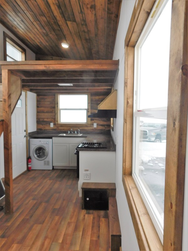 cabinets on wheels adam and emily s rustic elegance tiny house on wheels 13159