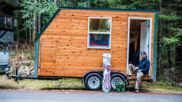 andy u0026 39 s 102 sq  ft  tiny house on wheels  for sale