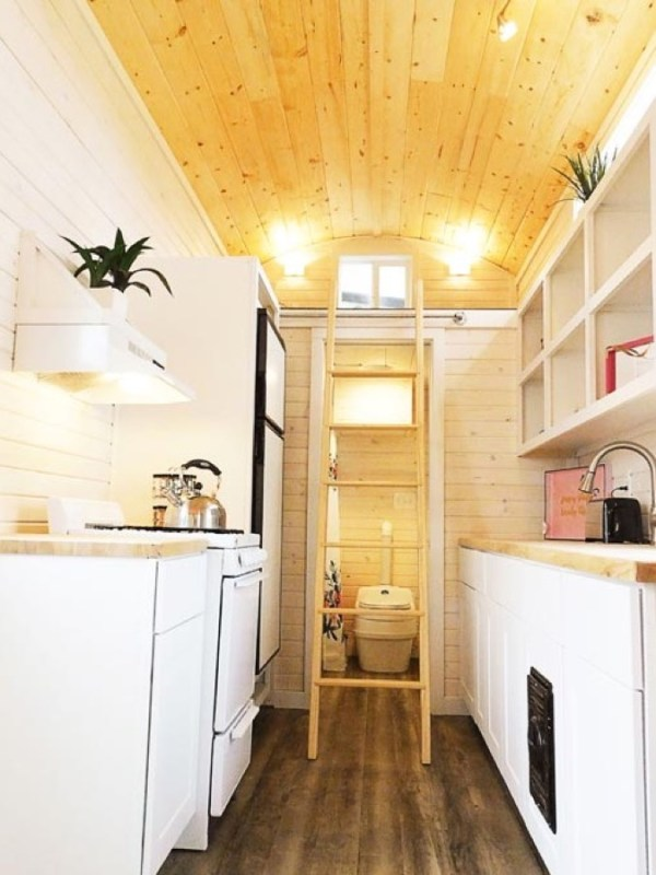 Artist 26ft Tiny House RV by Tiny Idahomes 008