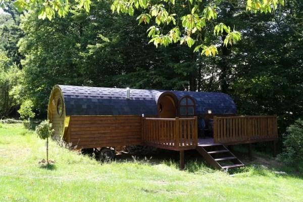 Barrel Tiny House Vacation near Paris 001