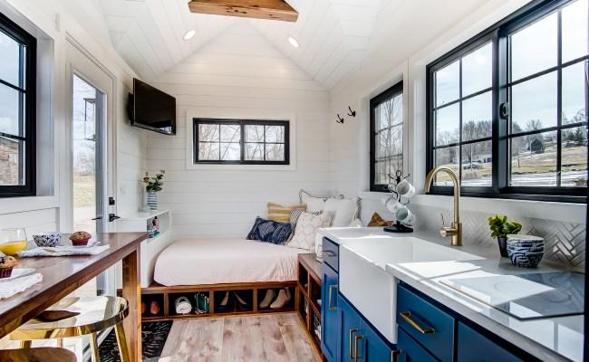 100k Tiny House With Two Main Floor Sleeping Areas