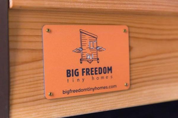 Big Freedom Tiny House on Wheels