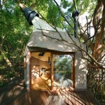 Bird's Nest Treehouse by Hiroshi Nakamura 001