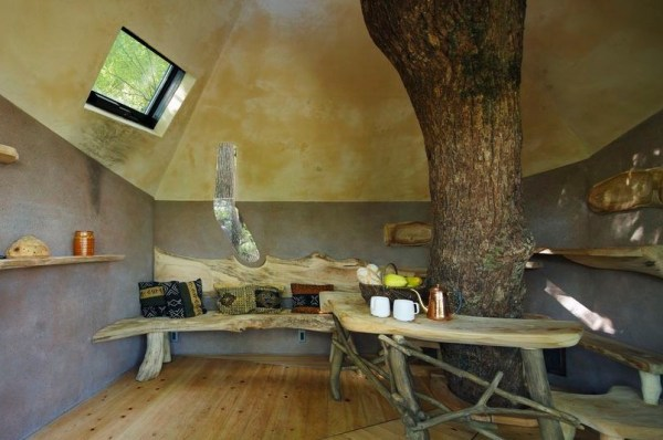 Bird's Nest Treehouse by Hiroshi Nakamura 002