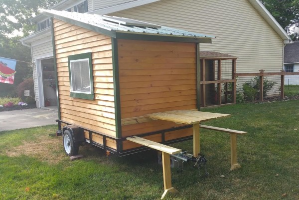 Homemade House Trailer - Year of Clean Water