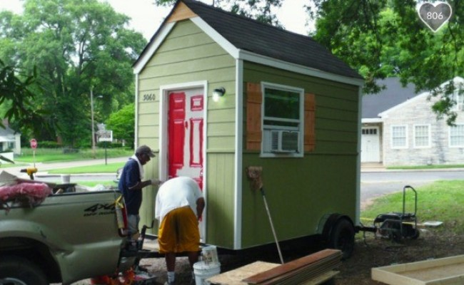 Man Builds Micro Homes For Homeless People Living In Tents