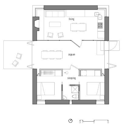Casa Caldera Modern Small Cabin 006