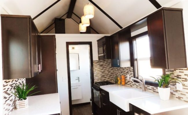 Cascade Tiny House With Downstairs Bedroom