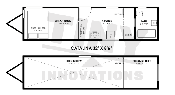 Catalina 32 Floorplan